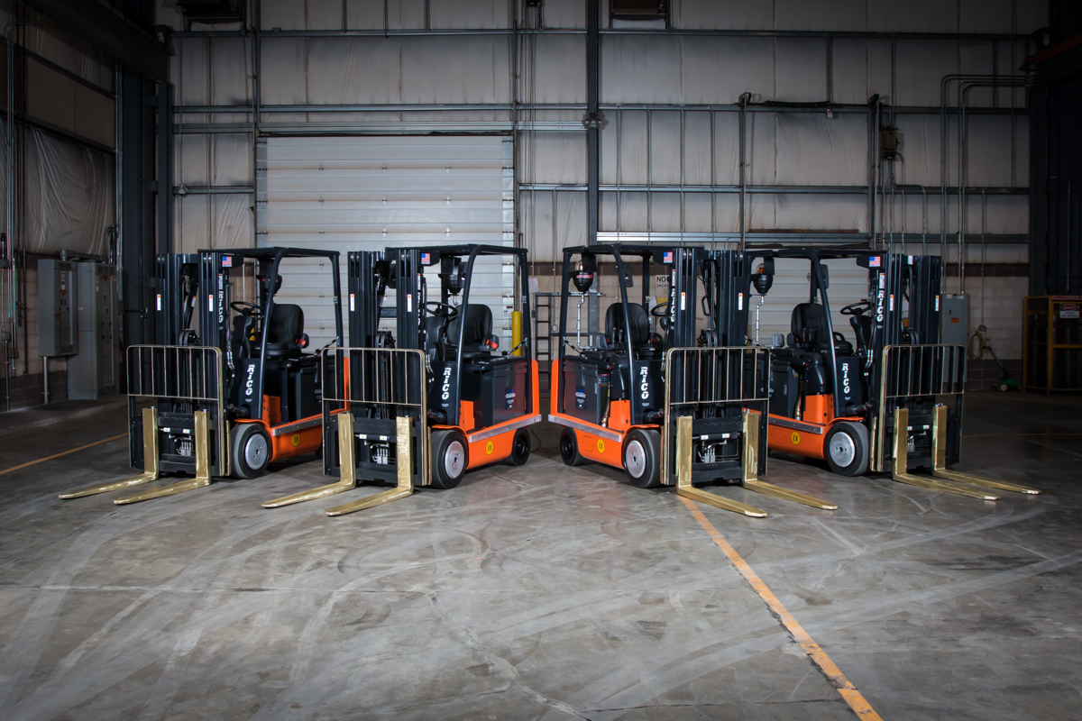 EX Counterbalance Fork Lifts