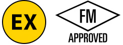 Explosion Proof and FM Approved logo
