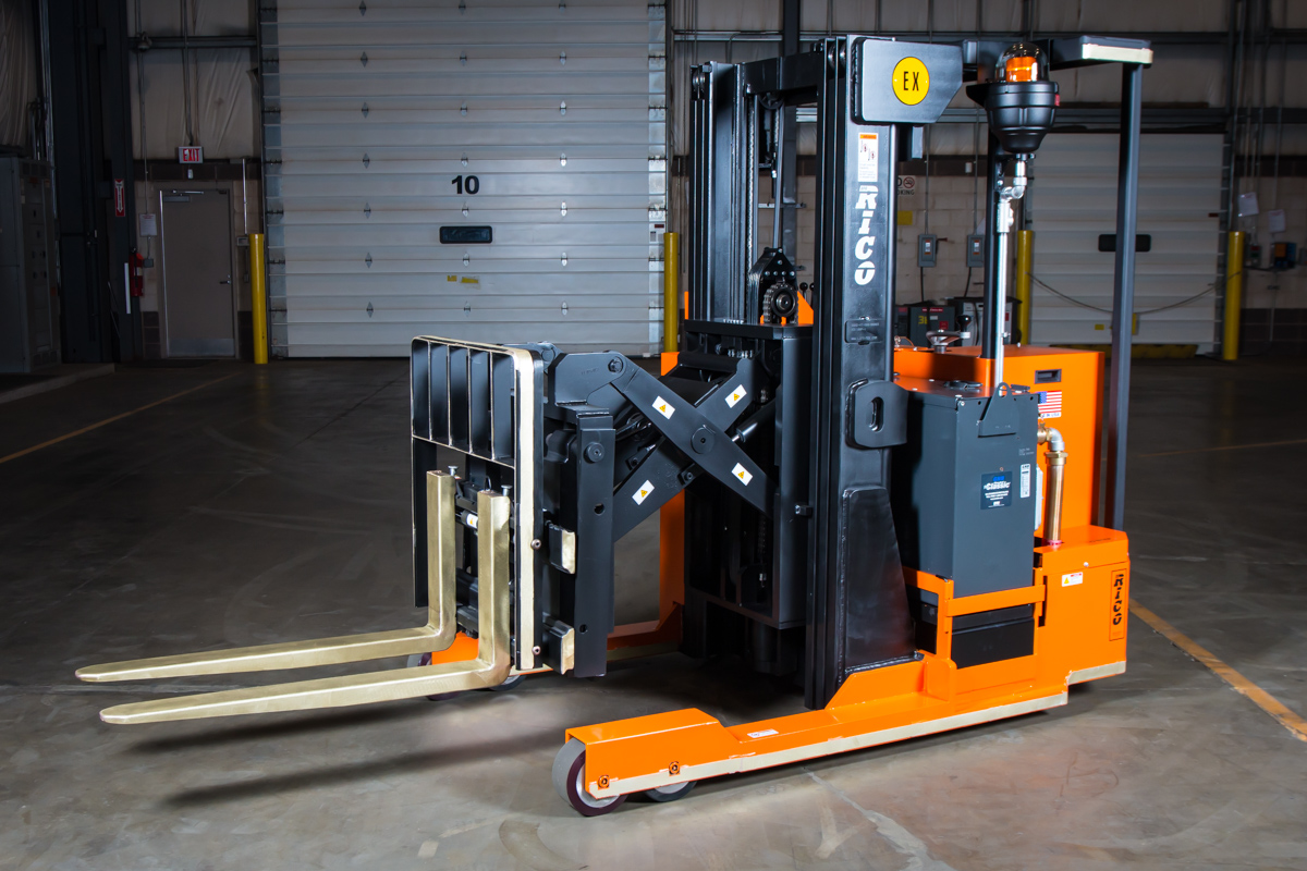 Explosion Proof Reach Forklift