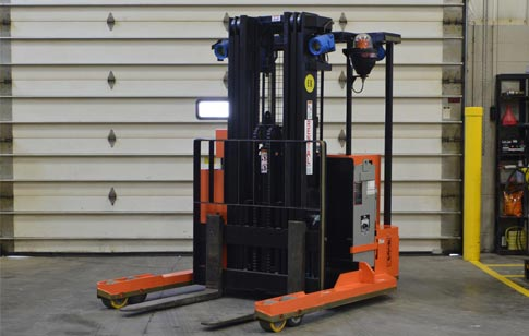 HLR-EX-AC-60 6K EX High Lift Stand-Up Rider Straddle