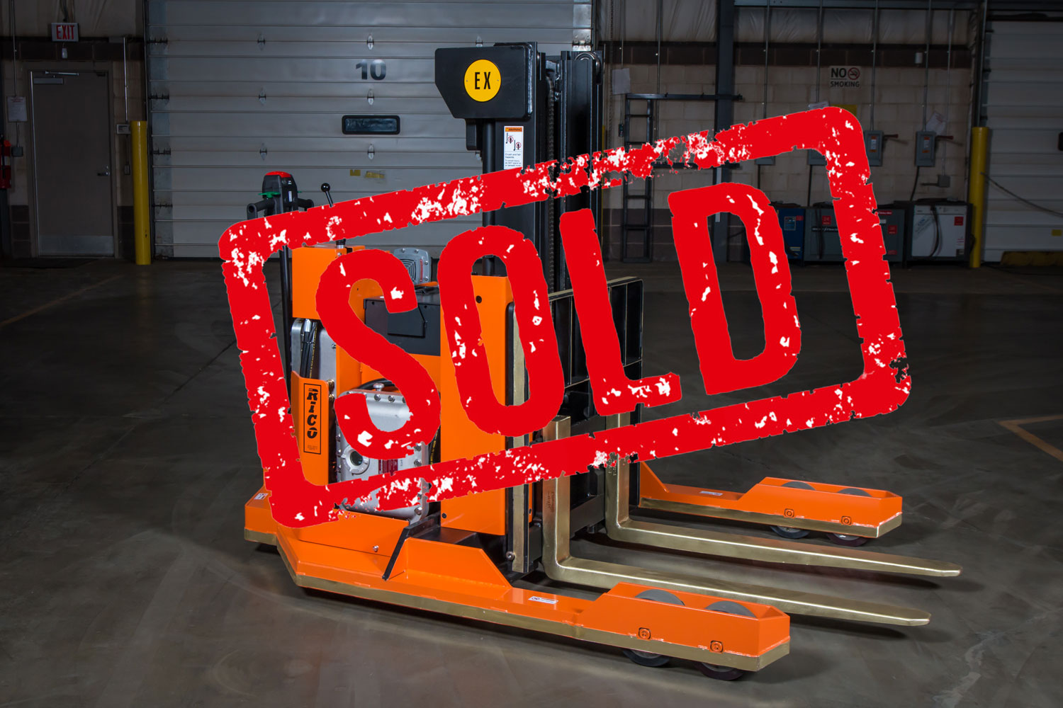 Walkie Explosion Proof Stradde Truck Sold