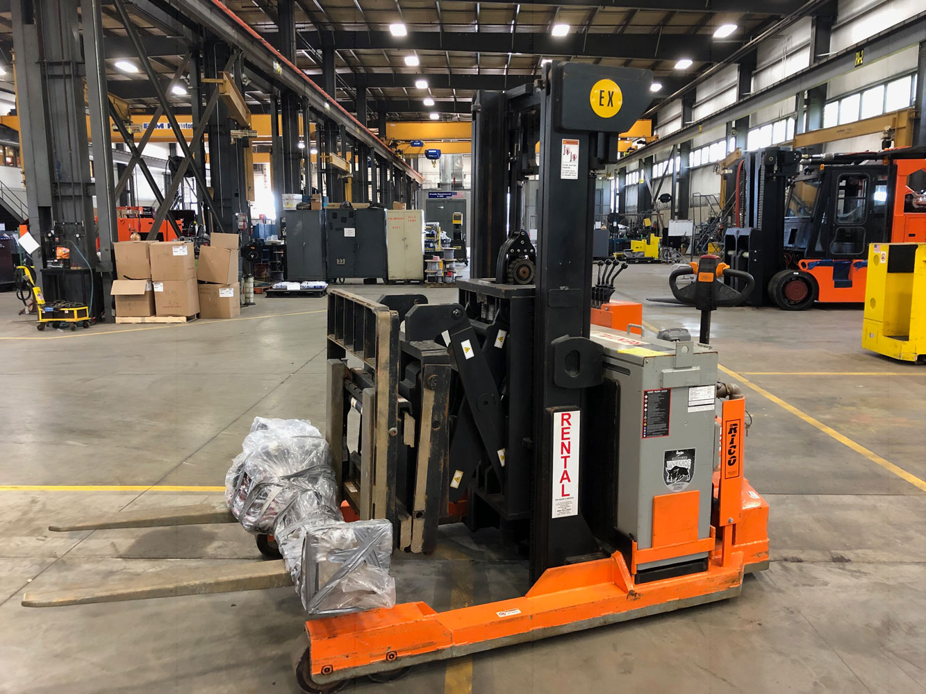 Used EX Reach Lift Truck