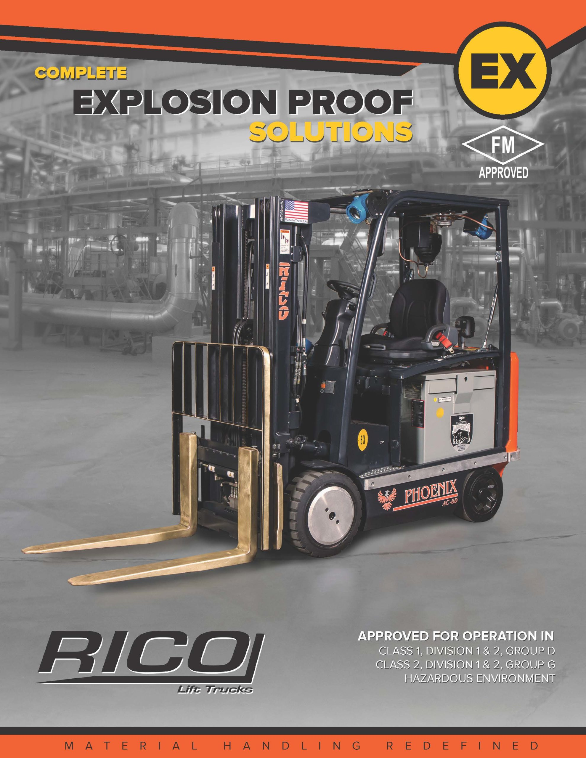 RICO EX Truck Series Single Page