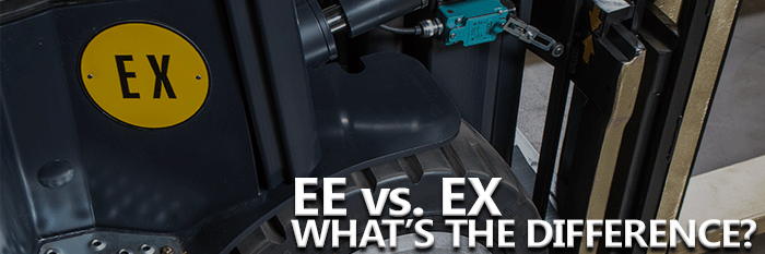 EE vs. EX Lift Trucks Difference